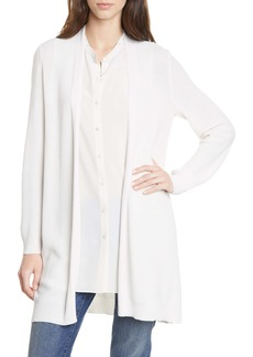 Eileen Fisher Simple Textured Cardigan (Regular & Petite)