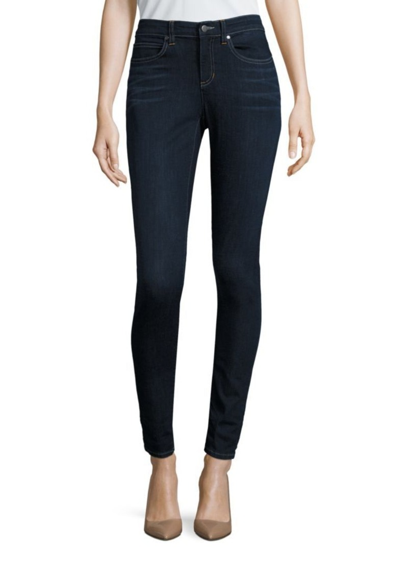 Eileen Fisher High-Rise Skinny Jeans