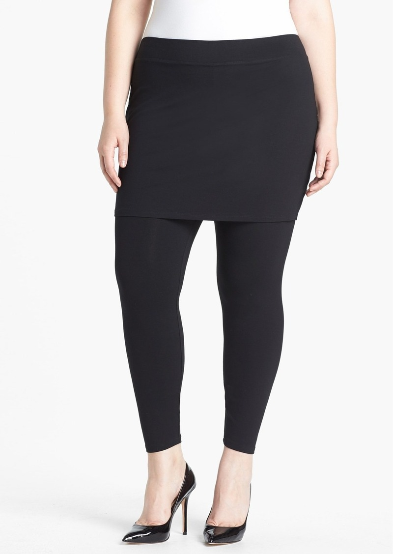 e7b56cefd9 Eileen Fisher Eileen Fisher Skirted Leggings (Plus Size) | Casual Pants