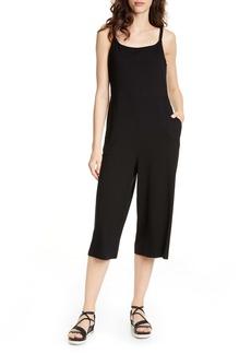 Eileen Fisher Sleeveless Crop Jumpsuit