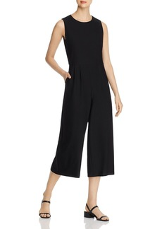 Eileen Fisher Sleeveless Cropped Jumpsuit