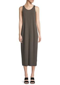 Eileen Fisher Sleeveless Jersey Maxi Dress
