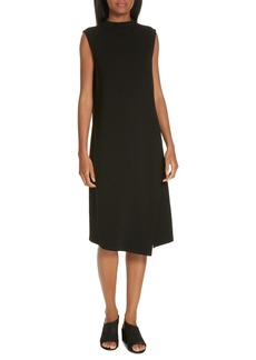 Eileen Fisher Sleeveless Mock Neck Dress