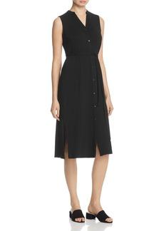 Eileen Fisher Sleeveless Shirt Dress - 100% Exclusive