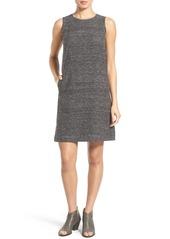 Eileen Fisher Sleeveless Silk & Linen Shift Dress (Regular & Petite)