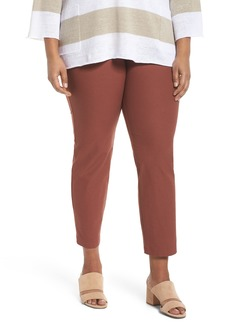 Eileen Fisher Slim Ankle Pants (Plus Size)