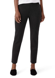 Eileen Fisher Slim Ankle Pull-On Pants