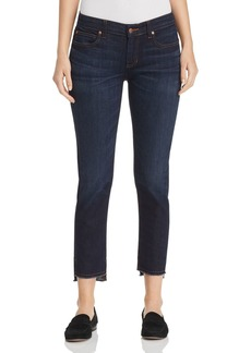 Eileen Fisher Slim Ankle Step-Hem Jeans in Utility Blue - 100% Exclusive