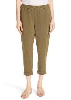 Eileen Fisher Slim Cropped Pants (Regular & Petite)