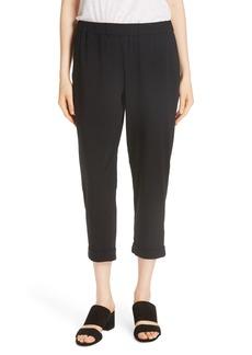 Eileen Fisher Slim Cropped Pants (Regular & Petite)