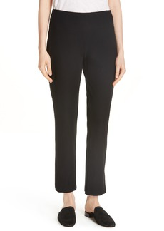 Eileen Fisher Slim Knit Pants (Regular & Petite)