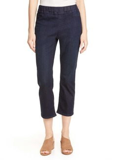 Eileen Fisher Slim Leg Crop Jeans