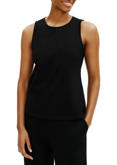 Eileen Fisher Slim Organic Cotton Crewneck Tank