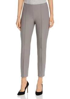 Eileen Fisher Slim Pintucked Pants
