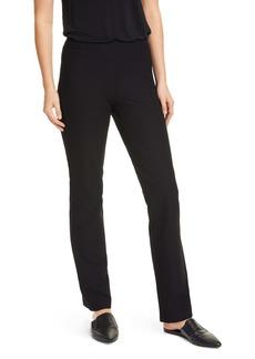Eileen Fisher Slim Stretch Crepe Pants
