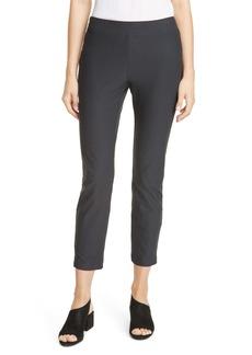 Eileen Fisher Slim Zip Ankle Knit Pants (Regular & Petite)