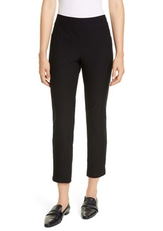 Eileen Fisher Slim Zip Ankle Knit Pants (Regular & Petite)