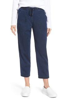 Eileen Fisher Slouchy Ankle Denim Pants (Regular & Petite)