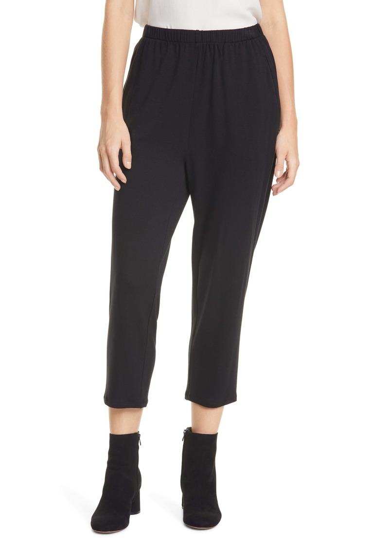 Eileen Fisher Slouchy Ankle Pants (Regular & Petite)