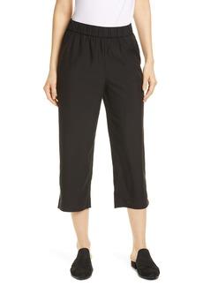 Eileen Fisher Slouchy Crop Pants (Regular & Petite)