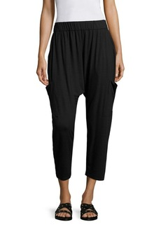Eileen Fisher Slouchy Cropped Jersey Pants