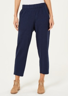 Eileen Fisher Slouchy Cropped Pants, Regular & Petite, Created for Macy's