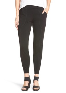 Eileen Fisher Slouchy Fleece Knit Pants (Regular & Petite)