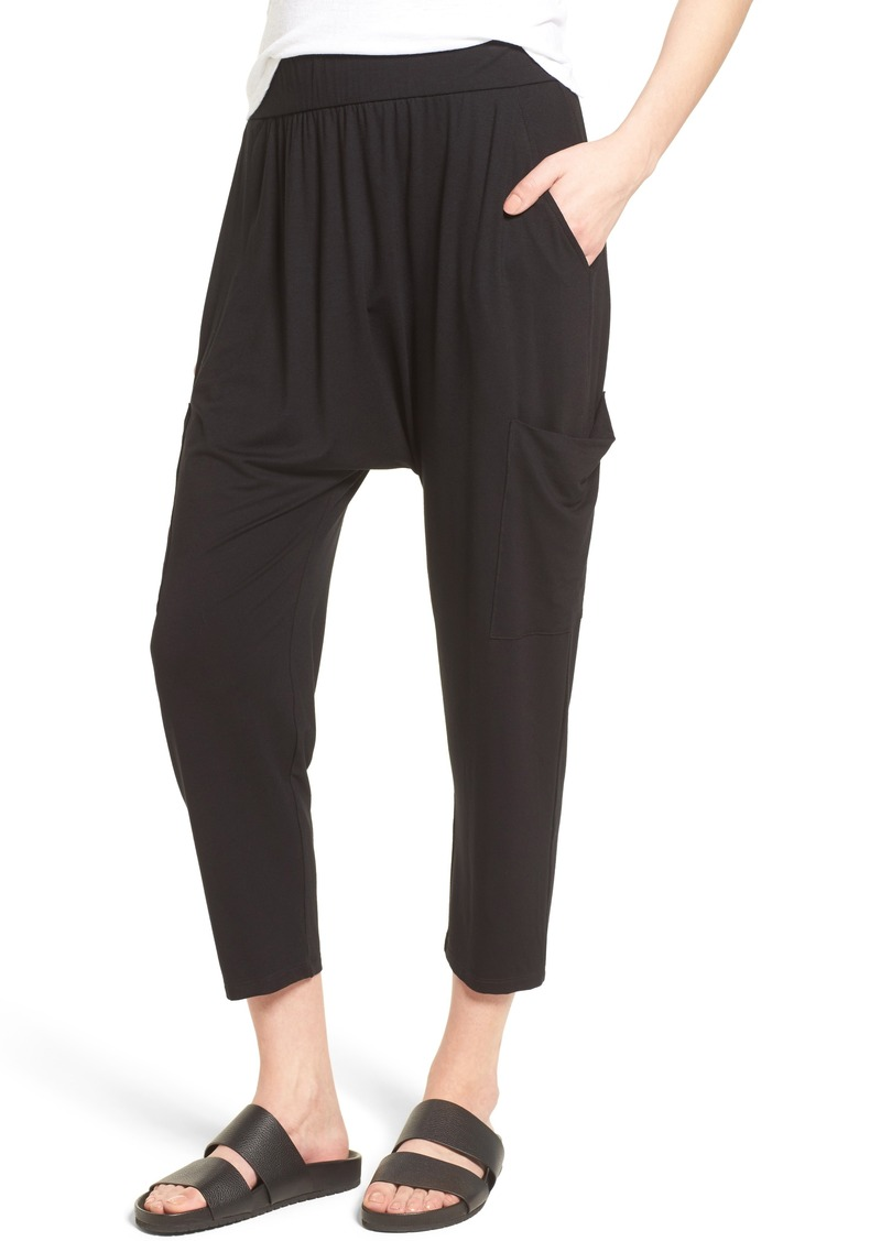 89235b92f2 Eileen Fisher Eileen Fisher Slouchy Jersey Crop Pants | Casual Pants