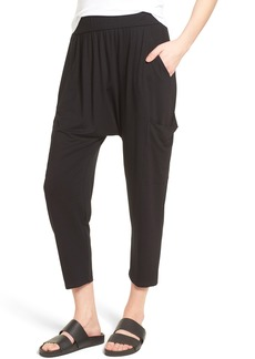 Eileen Fisher Slouchy Jersey Crop Pants