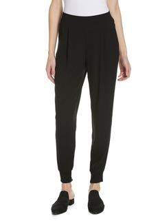 Eileen Fisher Slouchy Silk Ankle Pants (Regular & Petite)