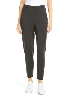 Eileen Fisher Slouchy Slim Ankle Pants (Regular & Petite)