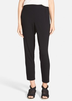 Eileen Fisher Slouchy Slim Jersey Ankle Pants