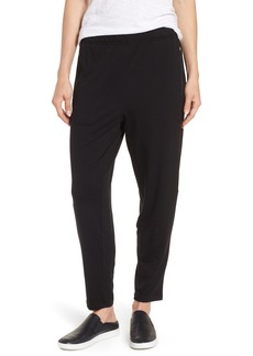 Eileen Fisher Slouchy Stretch Tencel® Lyocell Tapered Pants (Regular & Petite)