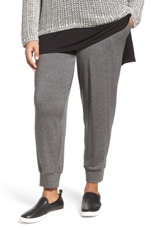 Eileen Fisher Slouchy Stretch Tencel® Terry Pants (Plus Size)