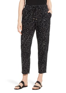 Eileen Fisher Slouchy Tapered Organic Cotton Ankle Pants (Regular & Petite)