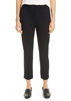 Eileen Fisher Slouchy Tencel® Lyocell Blend Ankle Pants (Regular & Petite)