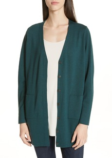 8a3462510ccc Eileen Fisher Eileen Fisher Long Cashmere Cardigan (Regular & Petite ...