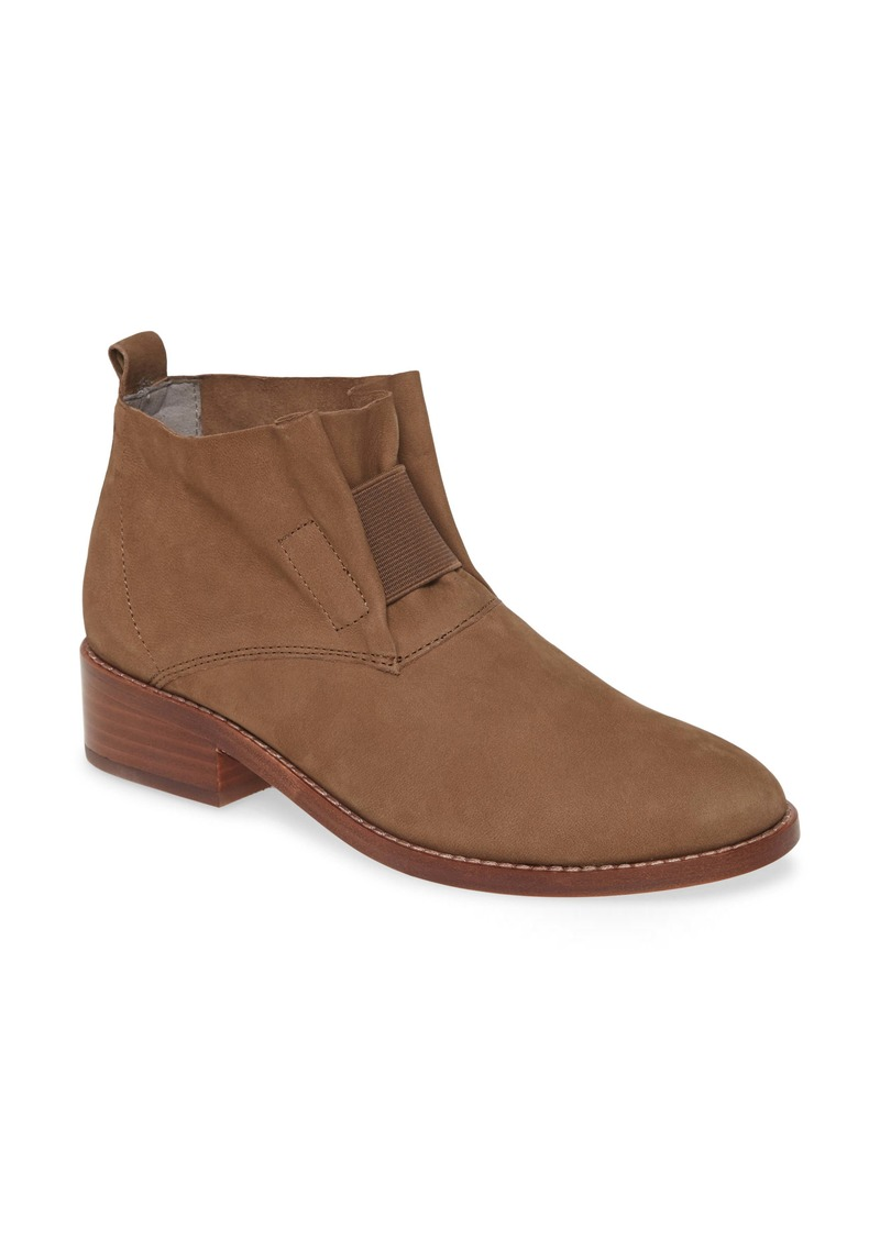 Eileen Fisher 'Soul' Gathered Leather Bootie (Women) (Online Only)