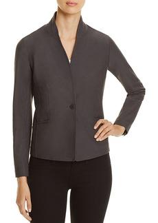 Eileen Fisher Stand Collar Blazer