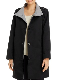 Eileen Fisher Stand Collar Coat - 100% Exclusive