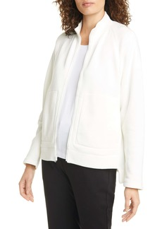 Eileen Fisher Stand Collar Jacket