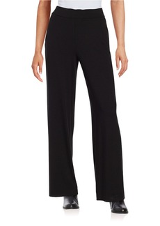 EILEEN FISHER Straight-Fit Solid Pants
