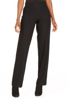 Eileen Fisher Washable Crepe Straight-Leg Pants
