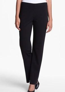 Eileen Fisher Straight Leg Ponte Pants (Regular & Petite)