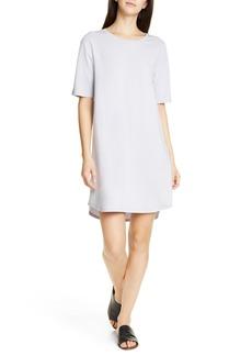 Eileen Fisher Stretch Cotton T-Shirt Dress