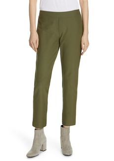 Eileen Fisher Stretch Crepe Ankle Pants (Regular & Petite) (Online Only)