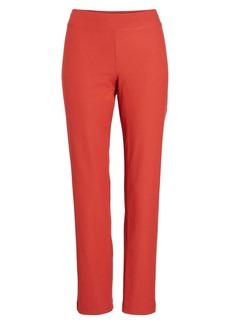 Eileen Fisher Stretch Crepe Slim Ankle Pants (Regular & Petite)