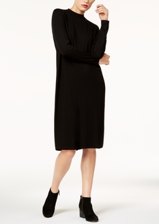 Eileen Fisher Stretch Jersey Funnel-Neck Dress in Regular & Petite, Created for Macy's