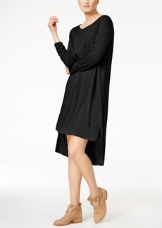 Eileen Fisher Stretch Jersey High-Low Dress, Regular & Petite