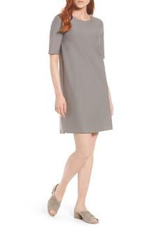 Eileen Fisher Stretch Knit Shift Dress (Regular & Petite)